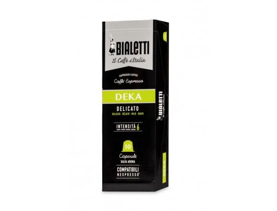 """Капсулы Bialetti """"Deca"""" 10 шт. для nespresso"""