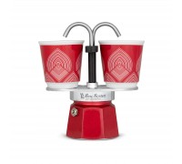 Гейзерная кофеварка Bialetti Mini Express 100 anniversary  на 2 чашки CENT005