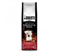 Кофе молотый Bialetti Perfetto Moka Cioccolato 0,25 кг. в/у
