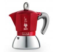 Гейзерная кофеварка Bialetti Moka Induction Red на 2 порции 6942
