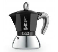 Гейзерная кофеварка Bialetti Moka Induction Black на 2 порции 6932