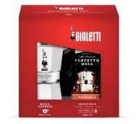 Гейзерная кофеварка Bialetti Moka Induction Red на 6 порций 6946
