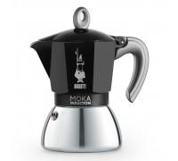 Гейзерная кофеварка Bialetti Moka Induction Black на 6 порций 6936