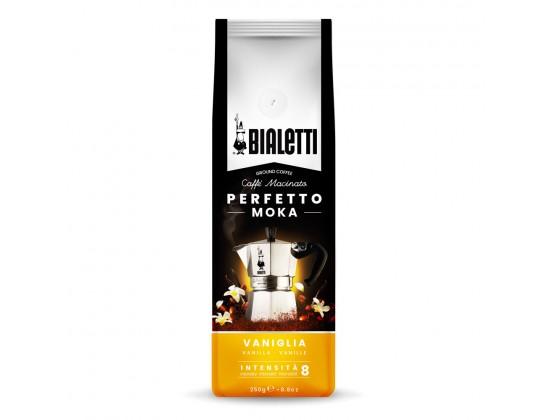 Кофе молотый Bialetti Perfetto Moka Vaniglia 0,25 кг. в/у