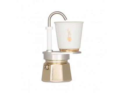 Гейзерная кофеварка Bialetti Mini Express Gold на 1 чашку 5860