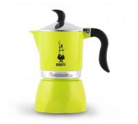Гейзерная кофеварка Bialetti Fiammetta Lime на 3 порции 7113