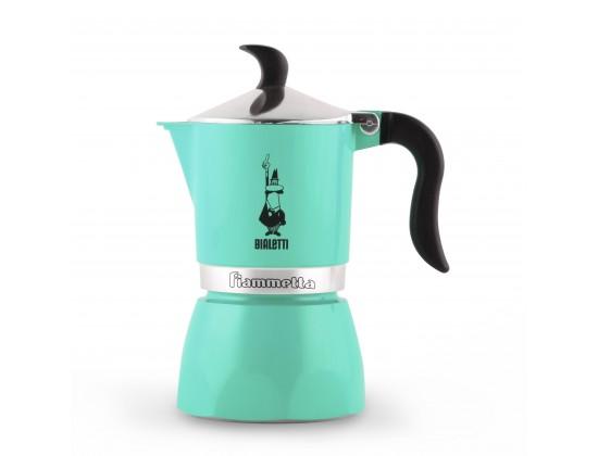 Гейзерная кофеварка Bialetti Fiammetta Green на 3 порции 7133