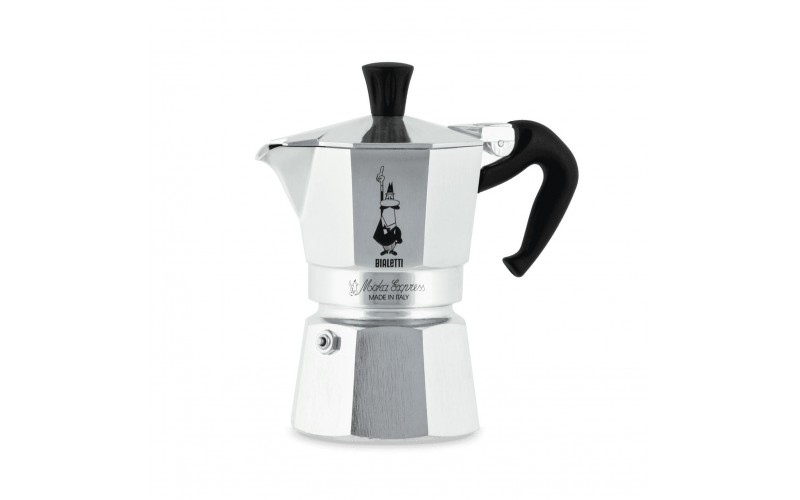 Гейзерная кофеварка bialetti moka express 2 порции