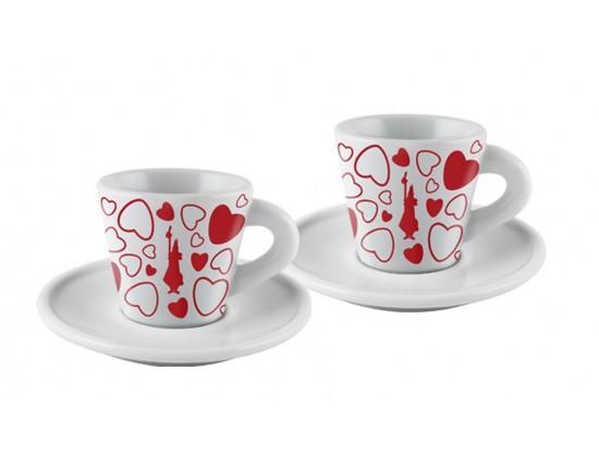 Кофейная пара Bialetti Espresso Cuore для эспрессо 2 шт.
