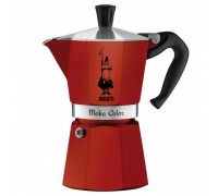 Гейзерная кофеварка Bialetti Moka Color на 6 порций 5293