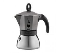 Гейзерная кофеварка Bialetti Moka Induction antracite на 6 порций 4823