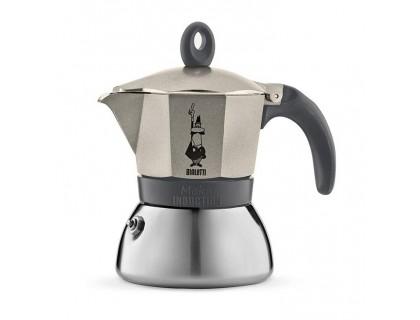 Гейзерная кофеварка Bialetti Moka Induction Gold на 3 порции 4832
