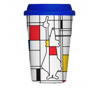 Термокружка Bialetti Arte Mondrian 300мл
