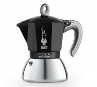 Гейзерная кофеварка Bialetti Moka Induction Black на 4 порции 6934