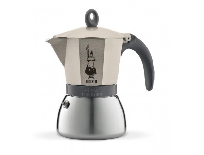 Гейзерная кофеварка Bialetti Moka Induction Gold на 6 порций 4833