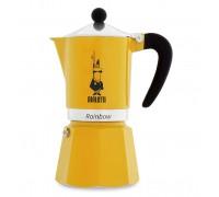 Гейзерная кофеварка Bialetti Rainbow Yellow на 6 порций 4983