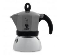 Гейзерная кофеварка Bialetti Moka Induction Antracite на 3 порции 4822