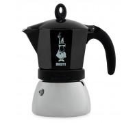 Гейзерная кофеварка Bialetti Moka Induction Black на 6 порций 4813
