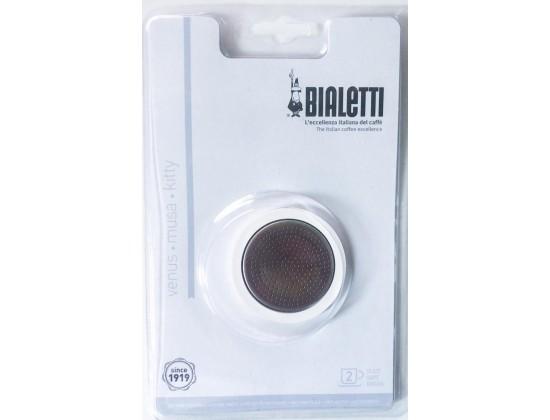 Набор запчастей для кофеварок Bialetti из стали на 2 порции