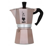 Гейзерная кофеварка Bialetti Moka Express Rose Gold на 6 порций RSG004