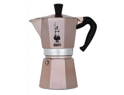 Гейзерная кофеварка Bialetti Moka Express Rose Gold на 6 порции RSG004