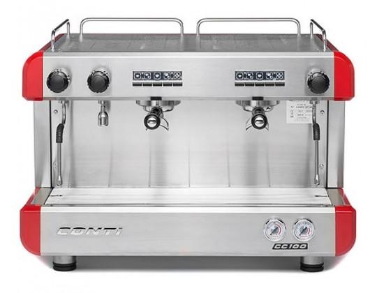 Профессиональная кофемашина Conti CC100 2GR (Red)