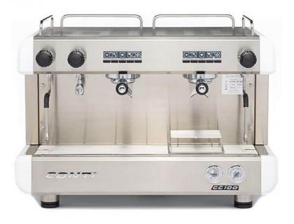 Профессиональная кофемашина Conti CC100 2GR White