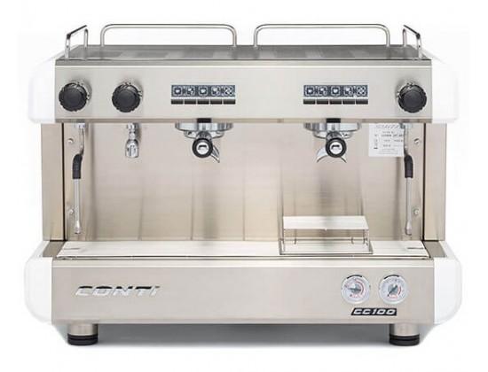 Профессиональная кофемашина Conti CC100 2GR (White)