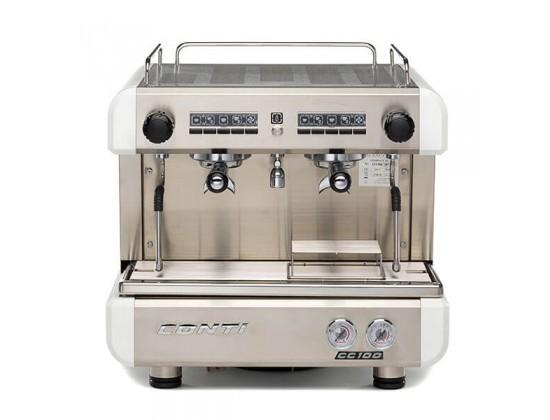 Профессиональная кофемашина Conti CC100 Compact 2GR (White)