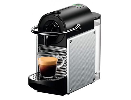 Капсульная кофемашина Delonghi EN 124.S Nespresso Pixie (Silver)