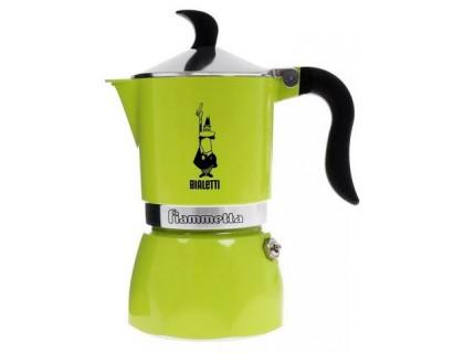 Гейзерная кофеварка Bialetti Fiametta Lime 4792