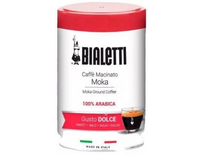 Кофе молотый Bialetti Gusto Dolce 0,25 кг. ж/б