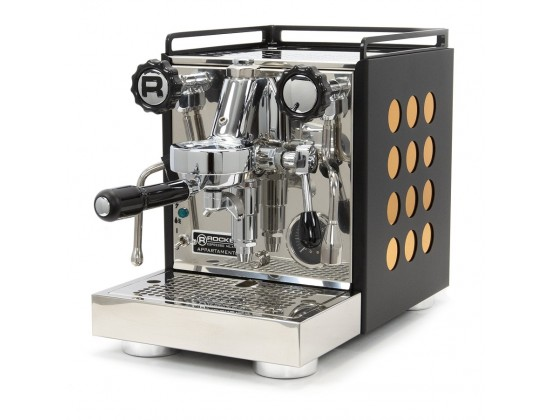 Профессиональная кофемашина Rocket Appartamento 1G (Black/Cooper)