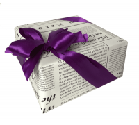 """Подарочная упаковка """"Фиолетовое настроение"""""""